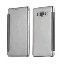 Samsung J7 2016 model mirror view flip cover(silver colour)
