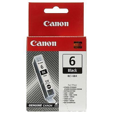 Genuine Canon BCI-6PC PhotoCyan-Black-Cyan-Yellow-Magenta-PMgnta  Ink Cartridge