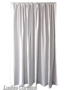 Image Is Loading 18 Ft H Gray Velvet Curtain Long Panel