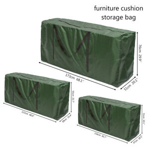 Image Is Loading Patio Furniture Cushion Storage Bag Outdoor Garden