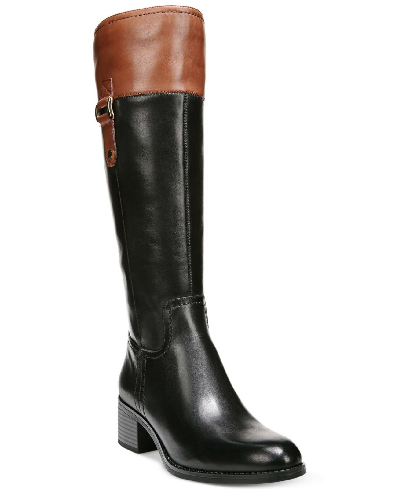 Brand New Franco Sarto Women's Lizbeth Wide calf Leather knee Boot Sz 6.5US,36.5