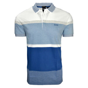 Hugo Boss Polo Shirt Paddy 2 with Three-Color Jacquard 50419401 410