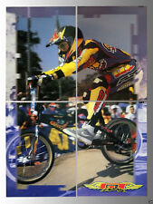 Rare GT BMX Bikes In-Store Four Piece Section Display Sign Poster