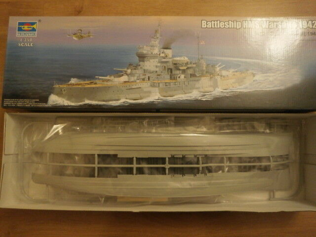 Trumpeter 05325   HMS  Warspite  1942  1 350 scale.