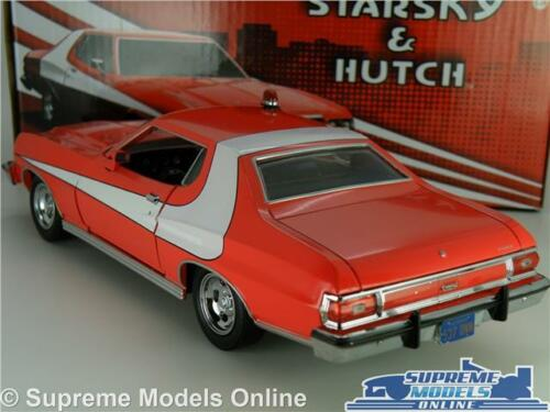 FORD GRAN TORINO STARSKY /& HUTCH MODEL CAR 1:24 SIZE AND LARGE GREENLIGHT T3