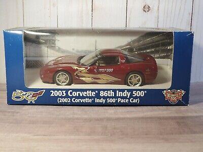 Revell 1:25 2003 Corvette 86th Indy 500 Pace Car 2002 Built Model #0941