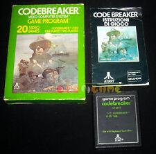 CODEBREAKER Atari Vcs 2600 Versione Europea Code Breaker »»»»» COMPLETO