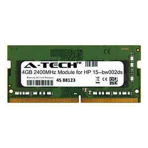 A-Tech-4GB-2400MHz-DDR4-RAM-for-HP-15-bw002ds-Laptop-Notebook-Memory-Upgrade