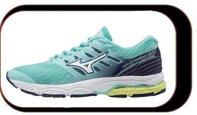 Chaussures De course Running Mizuno Wave Prodigy v2 Femme Vert Réf : J1GD181001   eBay
