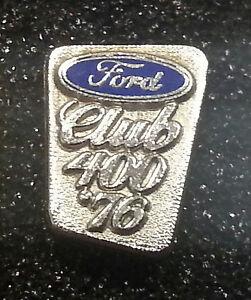 Sammeln & Seltenes Weißgold Emailliert 9x12mm Auto & Motorrad Realistisch Ford Schraube Club 400 1976 Gest 585 Gold