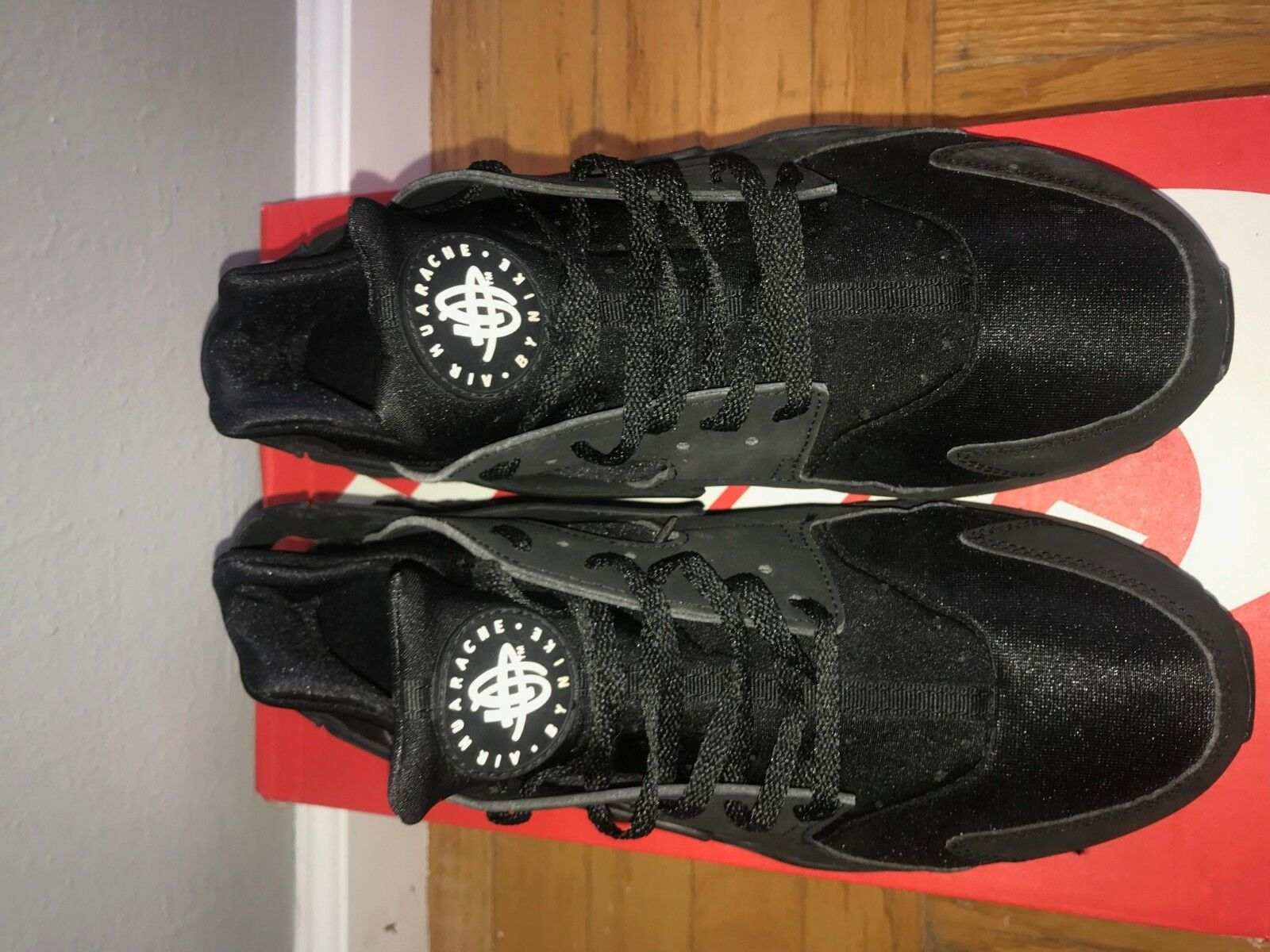 Nike Air Air Air Huarache All Black Size 11 Athletic shoes 50d954
