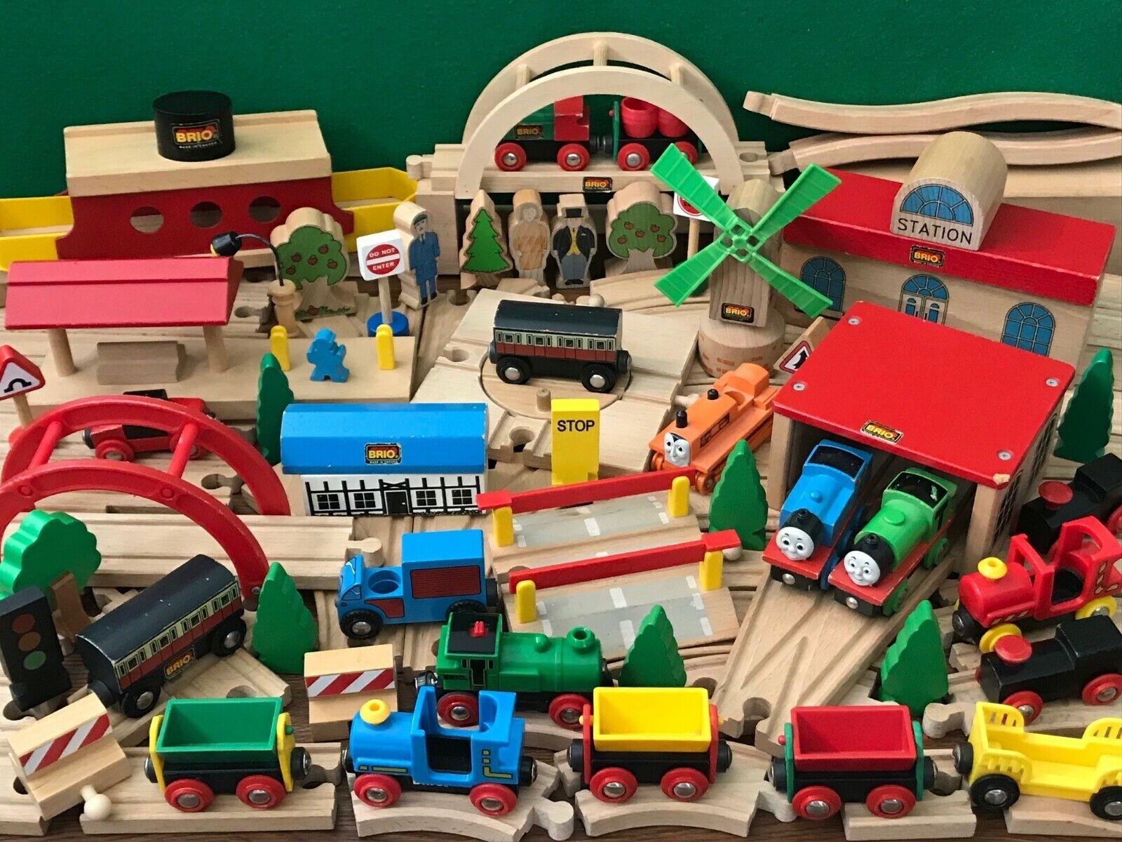 GENUINE BRIO TRAIN SET bundle lot for THOMAS & FRIENDS WOODEN RAILWAY ENGINE SET