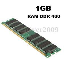 1GB 1G PC3200 DDR 400 MHZ Non-ECC 184PIN DIMM Desktop PC Computer Memory RAM