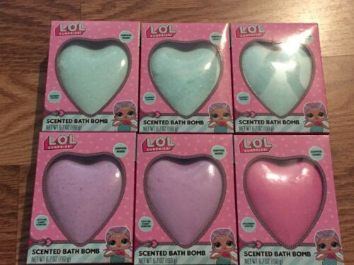 Lot of 6 LOL Surprise Inside Scented Bath Bomb