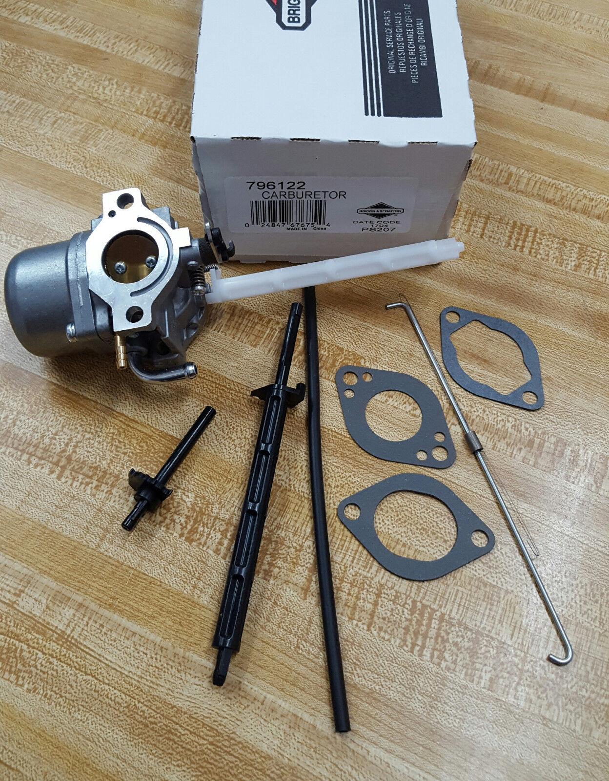 Carburetor For Briggs /& Stratton 2100 Series Generator Engine Carb Part# 799773