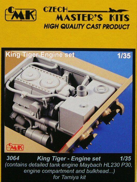 Czech Master 1  35 King Tiger -motor för Tamiya kit