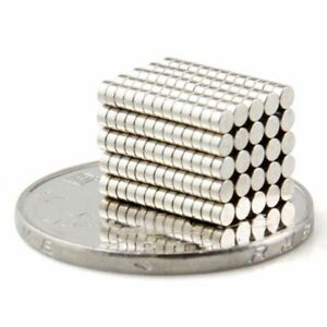 100pcs-Tiny-Disc-Rare-Earth-Neodymium-N35-Permanent-round-Strong-Magnets-2-X-1mm