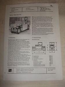 Adroit Rda Publicité Publicité Prospectus Feuille De Données Gummirad Rouleau Sgw 16 Veb Gatersleben 75-afficher Le Titre D'origine