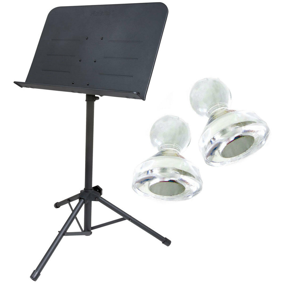 Roland RMS-10 Notenständer Orchester-Pult + Magnete
