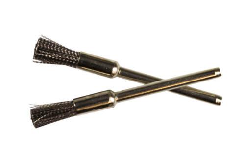 Weedness Siebkratzer 5,5 cm Köpfchenkratzer Siebbürste Stahl Pinsel Pfeifen Bong