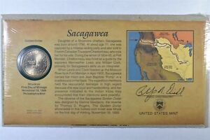 2000 P SACAGAWEA DOLLAR COIN FIRST DAY COVER SEALED US MINT