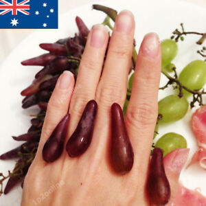 Witch-Finger-Grapes-Seed-Tree-40-RARE-grape-Seeds-Spring-Fruit-Purple-Maroon