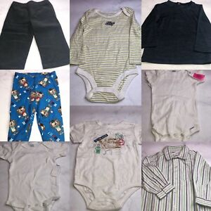 bdbd16bd1 BABIES R US 8 PC. LOT OF BABY BOY CLOTHES SIZE 12 MONTHS NWOT BB02 ...
