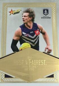 2020-AFL-SELECT-FOOTY-STARS-BEST-amp-FAIREST-CARD-NAT-FYFE-FREMANTLE-DOCKERS-BF6