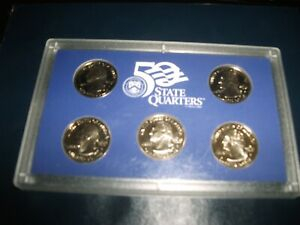 2000-2001-amp-2004-US-Mint-State-Quarter-Proof-Sets-SHIPS-FREE-TAKE-A-LOOK