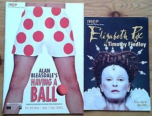 Individual Birmingham Repertory REP Theatre programmes 2000s, programme