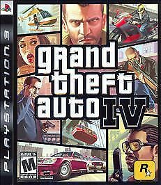 Grand Theft Auto IV GTA 4 (Sony Playstation 3 PS3, 2008) - DISC ONLY