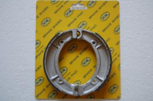 REAR BRAKE SHOES YAMAHA XS 360 400 1976-1983 XS360 XS400