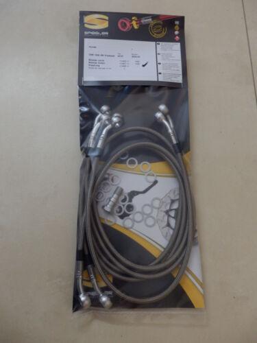 Kupplung CBR1000RR hinten CBR 1000 RR SC57 2004-05 SPIEGLER STAHLFLEX vorne