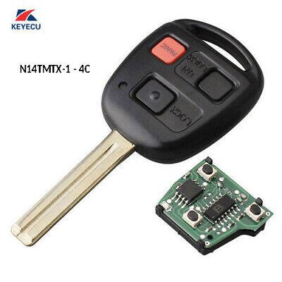 Lexus Key Fob >> Replacement Remote Key Fob 312MHz for Lexus RX300 1999 ...