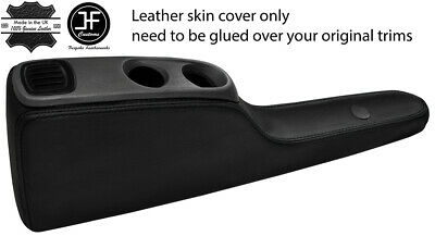 GREY STITCH REAL LEATHER HANDBRAKE GAITER COVER FITS SMART FORTWO 451 07-14