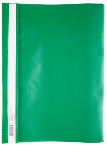 extra stark PP Farbe grün 10 Schnellhefter DIN A4