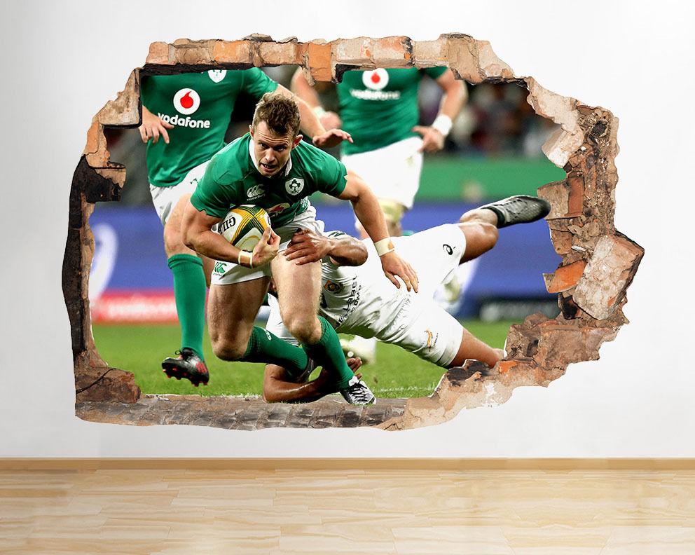 C668 de Rugby Deporte fresco juego de C668 Sma pegatina pa rojo  vinilo 3d habitación niños a01f5c