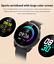 Senora-dorado-c19-Bluetooth-reloj-redondo-display-Android-iOS-Samsung-iPhone-IP miniatura 3