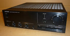 KENWOOD STEREO INTERGRATED AMP AMPLIFIER BLACK A-3X