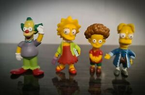 The Simpsons Collectable Character Figures Bart Lisa Fox Rare