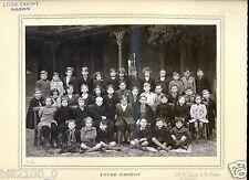 PHOTO ANCIENNE D'ECOLE .cote d'or .  Dijon . Lycée Carnot . 1941-1942