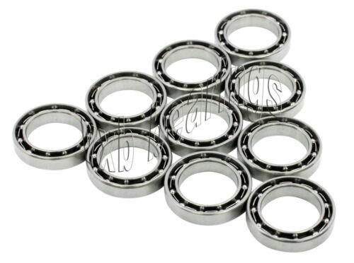 10 Bearing 61801 12x21x5 Open Ball Bearings