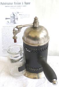 pulverisateur parisien a vapeur appareil medecine b ebay. Black Bedroom Furniture Sets. Home Design Ideas