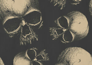 A1-Skull-Poster-Art-Print-Size-60-x-90cm-Halloween-Wall-Decor-Gift-14211
