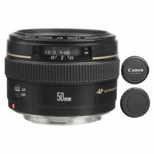 Canon EF 50mm f/1.4 USM Lens for T6S 80D 70D 6D 5DS R 5D III IV 7D Mark II 82966213014