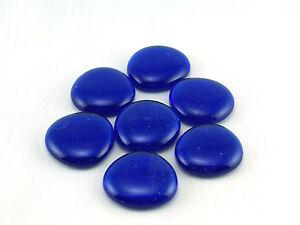 Glasnuggets-Dekosteine-Muggelsteine-II-Wahl-gross-in-blau-im-200g-Beutel