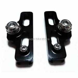 Black AICAN Aluminum C Brake Shoes Shimano Sram 1 Pair