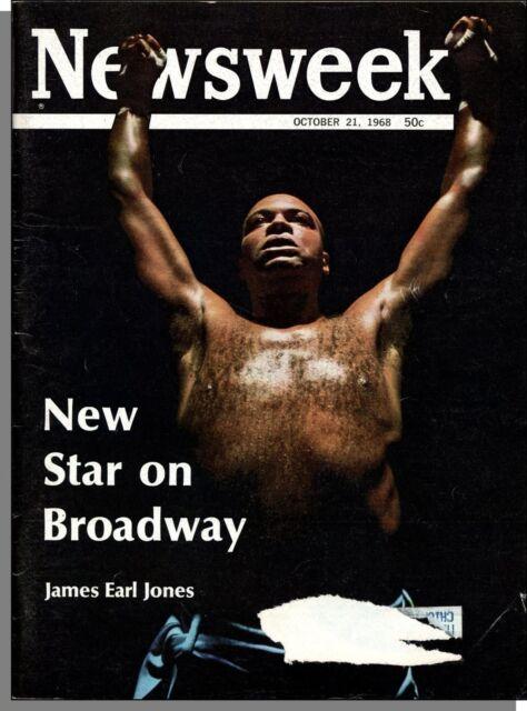 Newsweek - 1968, October 21 - James Earl Jones: New Star on Broadway, Apollo 7