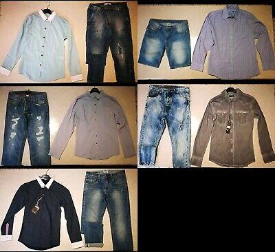 Lotto Stock 10 Pezzi D'abbigliamento Ragazzo Taglia 42/44 E S/m