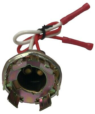 Parking Light Bulb Socket Standard S548 Lamp Pigtail Repair Connector 2